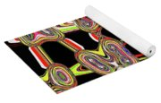 Color Circles Abstract Yoga Mat