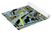 Color Combo Abstraction Yoga Mat