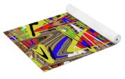 Color Mix Fun Abstract Yoga Mat