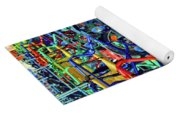 Color Of Bikes Yoga Mat