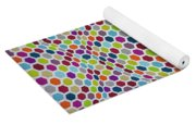 Colored Geometries Yoga Mat