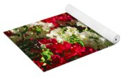 Colorful Bougainvilleas Yoga Mat