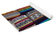 Colorful Cartagena Yoga Mat