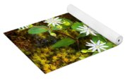 Colorful Chickweed Yoga Mat