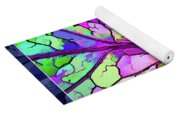 Colorful Coleus Abstract 3 Yoga Mat