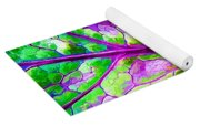 Colorful Coleus Abstract 1 Yoga Mat