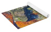 Colorful Earth History Yoga Mat