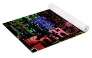 Colorful Evening Shadows Yoga Mat