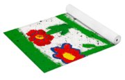 Colorful Garden Yoga Mat
