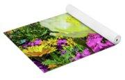 Colorful Garden II Yoga Mat