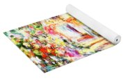 Colorful Garden Yoga Mat