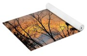 Colorful Nightfall Yoga Mat