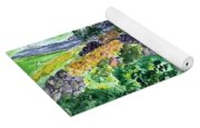 Colorful Rock Garden Yoga Mat