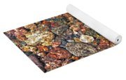 Colorful Rocks In Stream Bed Montana Yoga Mat