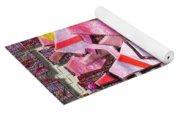 Colorful Scrap Metal Yoga Mat
