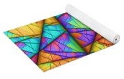 Colorful Slices Yoga Mat
