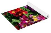 Colorful Spring Primrose By Kaye Menner Yoga Mat