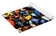 Colorful Stones I Yoga Mat