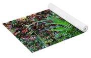 Colorful Tropical Plants Yoga Mat