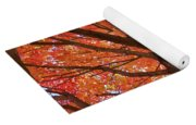 Colors Of Fall Yoga Mat