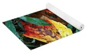 Colors Of The Fall Yoga Mat