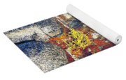 Colors On Rock II Yoga Mat