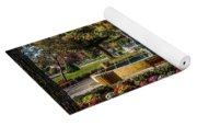 Columbus Day In The Park Yoga Mat