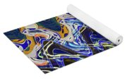 Condos On The Beach Abstract Yoga Mat