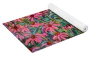 Coneflowers Yoga Mat