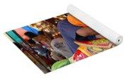 Coney Island Carousel Yoga Mat