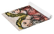 Conjoined Twins, Nuremberg Chronicle Yoga Mat