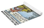 Constitution Cartoon Yoga Mat