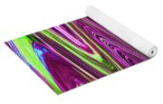 Construction Color Abstract P Yoga Mat
