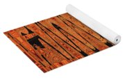 Copper Plates Double Abstract Yoga Mat