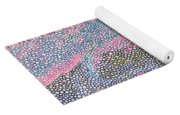 Coral Blues  Yoga Mat