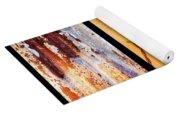 Corrugated Iron Triptych #8 Yoga Mat