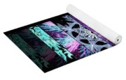Cosmic Collage Mosaic Left Mirrored Yoga Mat