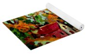 Cottage Country The Eastern Townships A Romantic Summer Landscape Yoga Mat