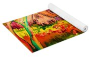 Cottage In Maine Yoga Mat