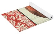 Country Rooster 2 Yoga Mat
