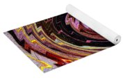 Crazy Swirl Art Yoga Mat