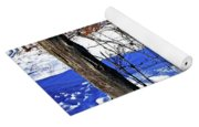 Creek Fenceline Yoga Mat