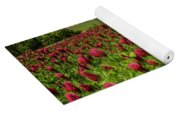 Crimson Clover Patch Yoga Mat