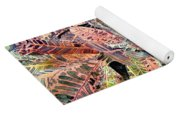 Croton Tropical Art Print Yoga Mat