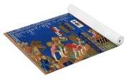 Crusades 14th Century Yoga Mat