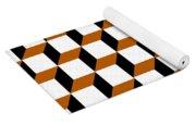 Cubism Squared Yoga Mat