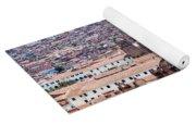 Cusco Cityscape Yoga Mat