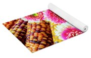 Daises On Indian Corn Yoga Mat