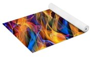Dancing Flames Yoga Mat