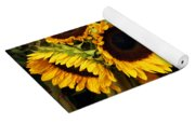 Dancing Sunflowers Yoga Mat